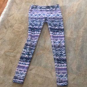 Zella workout leggings 7/8 length